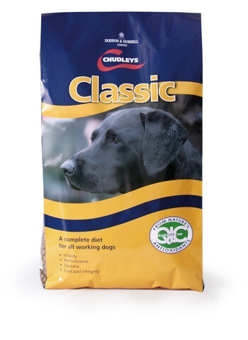 Chudleys working diets are designed to improve your dogs stamina and recovery