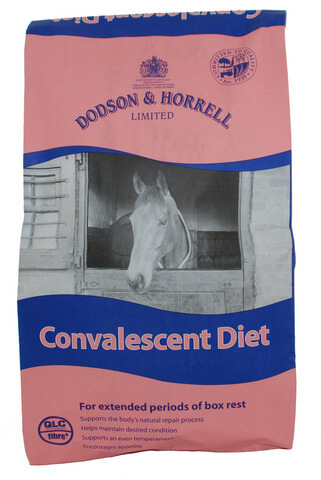 Convalescent Diet is formulated to promote condition whilst maintaining an even temperament particularly during long periods of box rest.