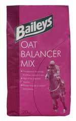 Oat Balancer Mix is a high energy mix designed to be fed alongside oats