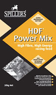 SPILLERS HDF (High Digestible Fibre) Power Cubes and Mix are high energy.