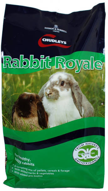 Rabbit Royale is a complete muesli mix of pellets