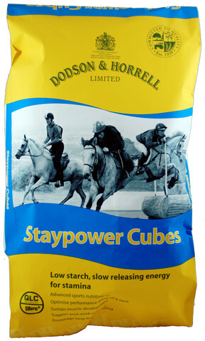 Staypower Cubes provide slow releasing energy from fibre and oil which is ideal for competition horses performing in disciplines which require sustained fuel and stamina.