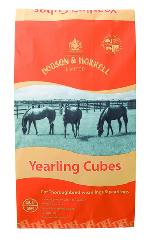 Scientifically formulated for Thoroughbred weanlings & yearlings.