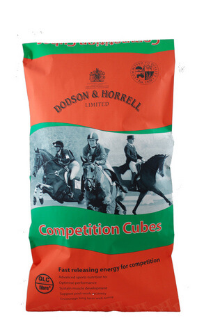 Competition Cubes are formulated using the latest international research to support the nutritional demands of the competing horse.