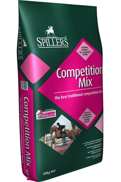 SPILLERS Competition Mix is the perfect choice for all disciplines of competitive riding from Pony Club mounted games through to Eventing or hunting.