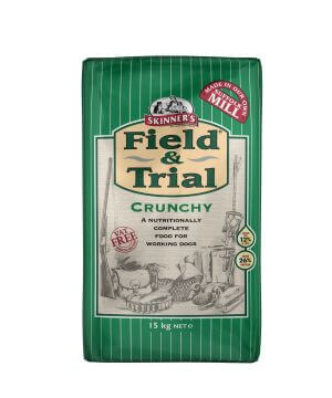 Field & Trial Crunchy contains easy-to-digest chicken needed for strong muscles