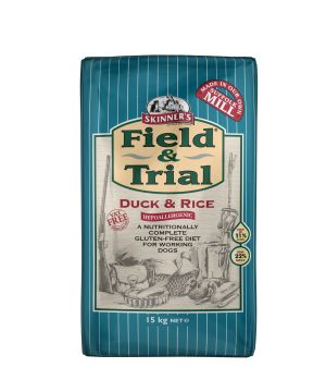 Field & Trial Duck & Rice is completely hypoallergenic as it has been specifically formulated to exclude ingredients that are known to cause sensitivities or allergies.