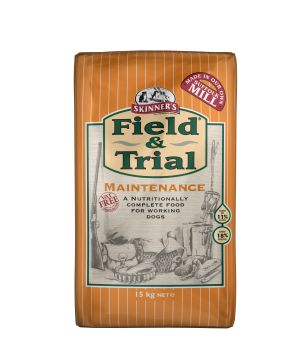 Field & Trial Maintenance contains easily digestible chicken providing the correct level of protein for the maintenance of strong muscles