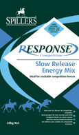 SPILLERS RESPONSE Slow Release Energy Feeds are ideal for excitable horses that need both control and power.