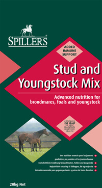 SPILLERS Stud and Youngstock Mix is a highly palatable stud mix suitable for broodmares