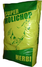 Super Molichop Herbi contains all the goodness and benefits of Super Molichop Original plus a unique blend of aromatic herbs that gives this premium product an appetising taste & smell.